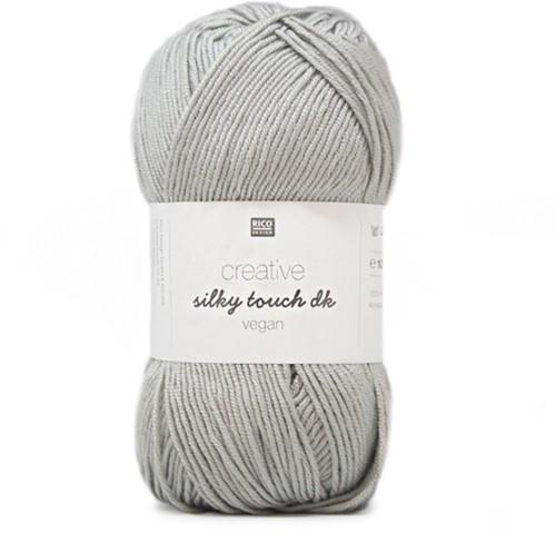 Creative Silky Touch Ajourjacke Strickpaket 2 44 Silver-Grey