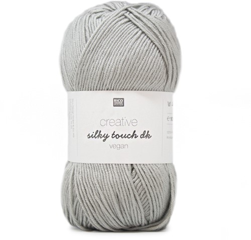 Creative Silky Touch Ajourjacke Strickpaket 2 40/42 Silver-Grey