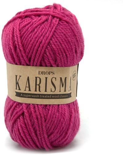Drops Karisma Uni Colour 13 Cerise