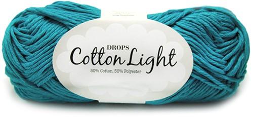 Drops Cotton Light Uni Colour 14 Turquoise