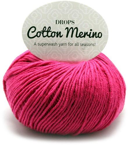 Drops Cotton Merino Uni Colour 14 Pink