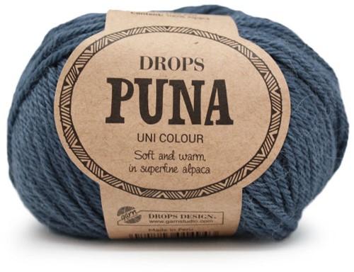 Drops Puna Uni Colour 14 Jeansblau