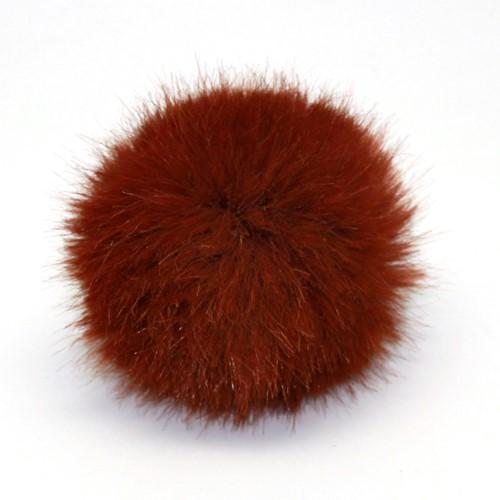 Rico Kunstfell Pompon Medium 15 Hazelnut