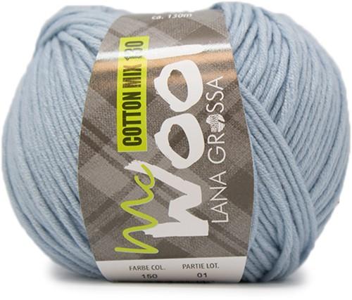 Lana Grossa Cotton Mix 130 150 Light Blue