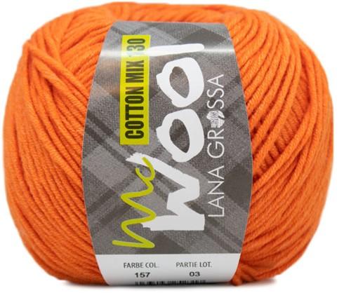 Lana Grossa Cotton Mix 130 157 Orange