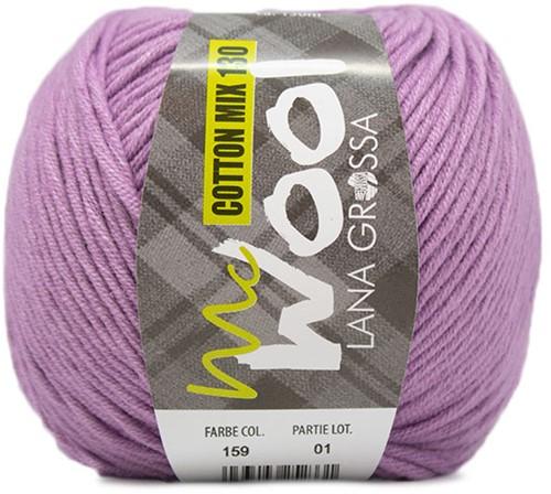 Lana Grossa Cotton Mix 130 159 Purple