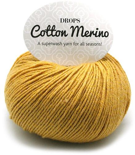 Drops Cotton Merino Uni Colour 15 Senf