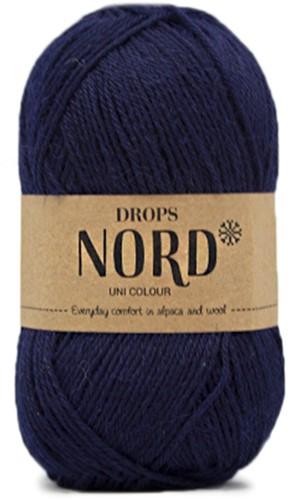 Drops Nord Uni Colour 15 Navy Blue