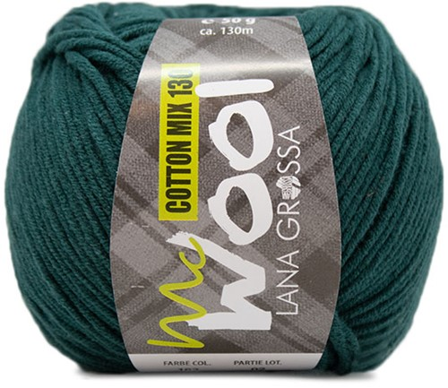 Lana Grossa Cotton Mix 130 162 Dark Petrol