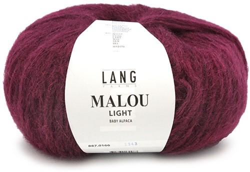 Lang Yarns Malou Light 166 Berry