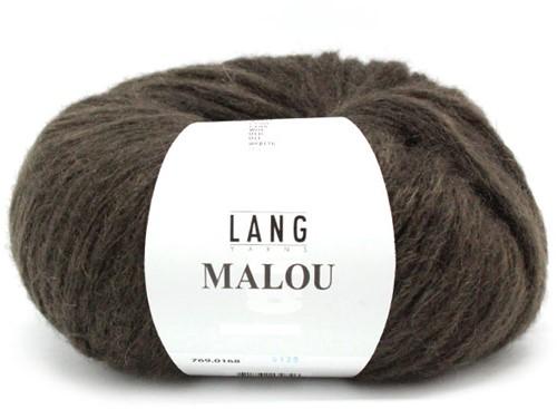 Lang Yarns Malou 168 Choco