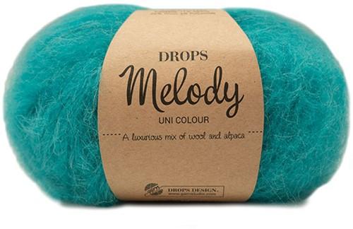 Drops Melody Uni Colour 16 Turquoise