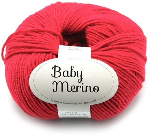 Drops Baby Merino Uni Colour 16 Red