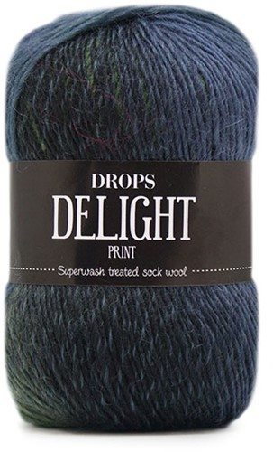 Drops Delight 16 Green-blue