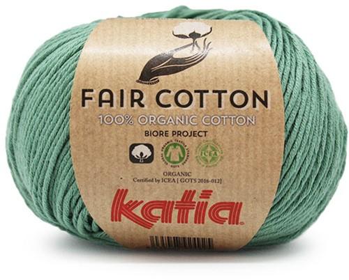 Katia Fair Cotton 17 Mint green