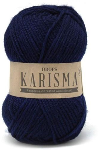 Drops Karisma Uni Colour 17 Navy-blue
