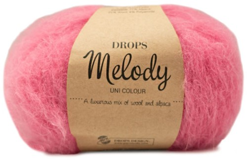 Drops Melody Uni Colour 17 Hot Pink
