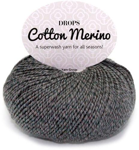 Drops Cotton Merino Uni Colour 19 Grau
