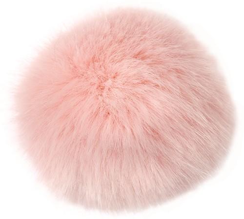 Rico Kunstfell Pompon Medium 19 Pink
