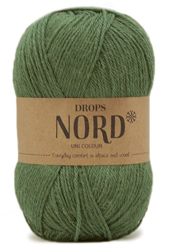 Drops Nord Uni Colour 19 Forest Green