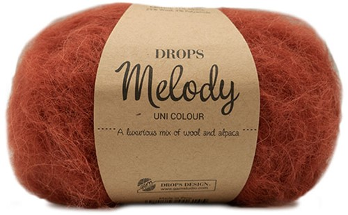 Drops Melody Uni Colour 19 Brick