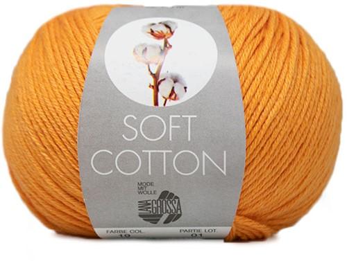 Lana Grossa Soft Cotton 019 Orange