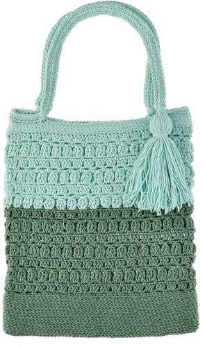 Happy Handmade Bag Häkelpaket 1 Jade Gravel & Aventurine