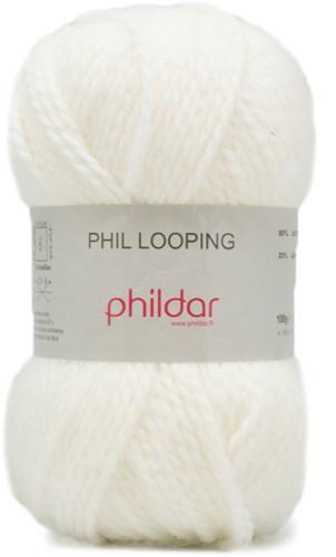 Phildar Phil Looping 1225 Craie