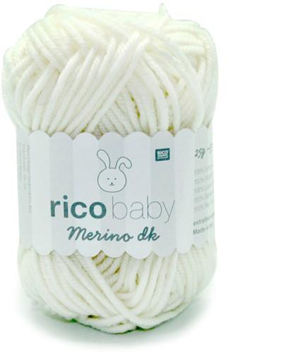 Rico Baby Merino dk 1 White