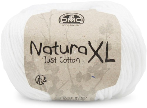 DMC Natura XL 01 White
