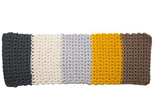 Yarn and Colors Colorblocking-Decke Häkelpaket 2