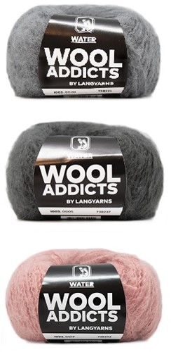 Wooladdicts Romeo Loopschal Strickpaket 1