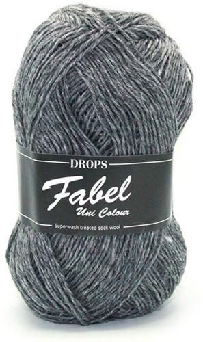 Drops Fabel Uni Colour 200 Grey
