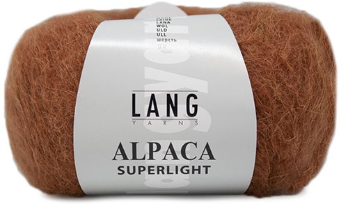 Alpaca Superlight Pullover Strickpaket 1 S/M Rust
