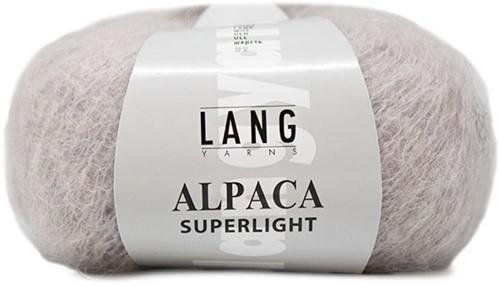 Alpaca Superlight Pullover Strickpaket 2 S/M Light Grey