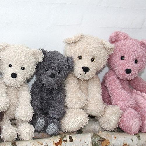 Häkelanleitung Teddy Familie Go Handmade