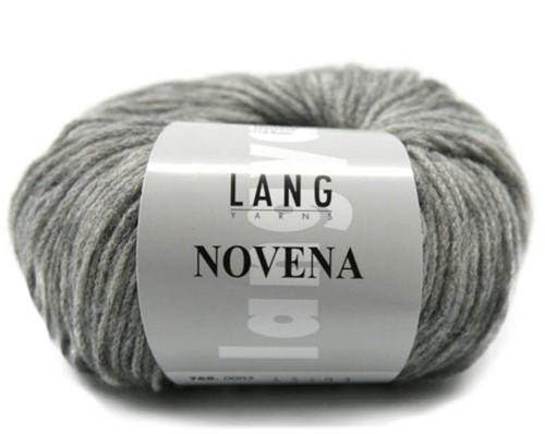 Novena Rollkragenpullover Strickpaket 2 XL Light Grey