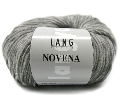 Novena Rollkragenpullover Strickpaket 2 S Light Grey