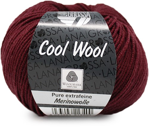 Lana Grossa Cool Wool 2041 Burgundy