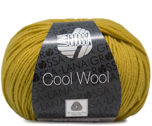 Lana Grossa Cool Wool 2062 Mustard