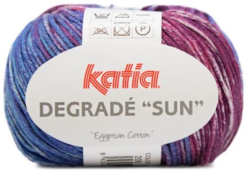 Katia Degradé Sun 251 Blue / Red