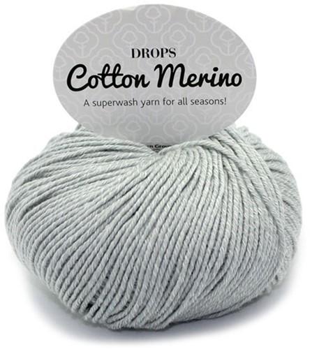 Drops Cotton Merino Uni Colour 20 Hellgrau