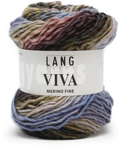 Lang Yarns Viva 20 Light Blue/Violet/Grey