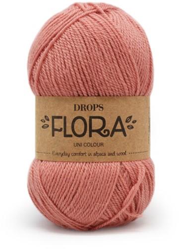 Drops Flora Uni Colour 20 Peach Pink