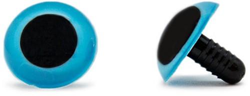 Sicherheitsaugen Blau 20mm 2 Stück