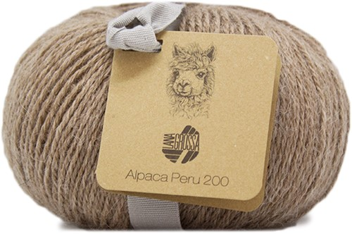 Lana Grossa Alpaca Peru 200 210 Taupe