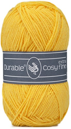 Durable Cosy Extra Fine 2180 Bright Yellow