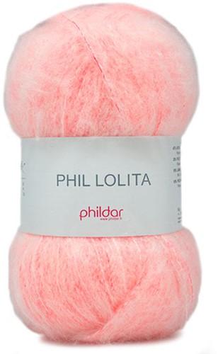 Phildar Phil Lolita 2198 Rose Fluo