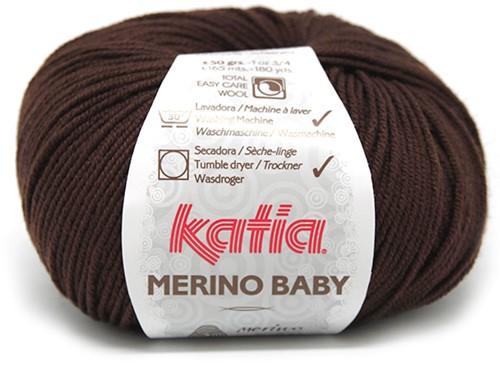 Katia Merino Baby 21 Brown