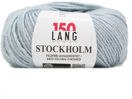 Lang Yarns Stockholm 21 Light Blue